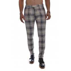 MICHAEL COAL Check trousers