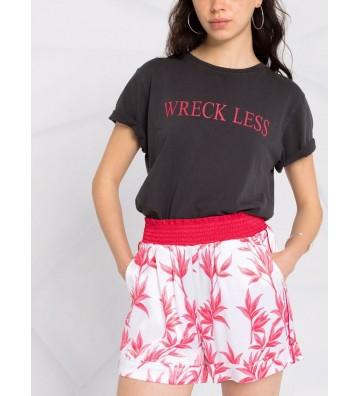 LIU JO shorts fantasia rosso